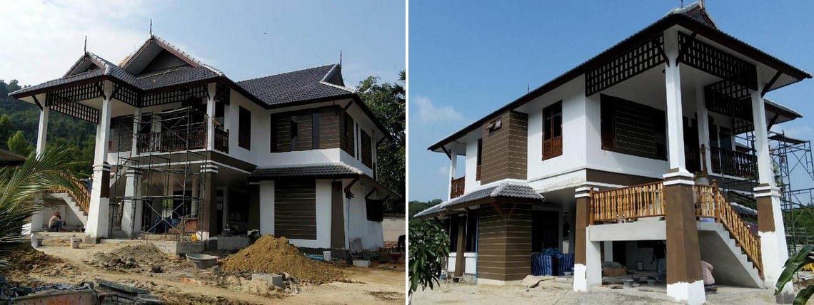 House Construction in Thailand